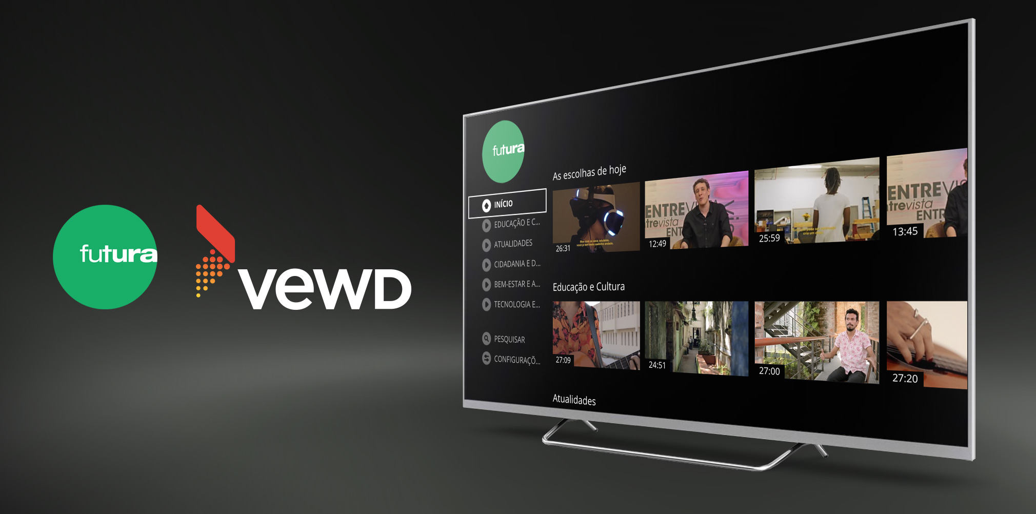 Vewd Adds Canal Futura to Latin America's Leading TV App Store