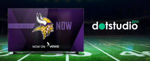 Image of Vikings Now with vewd and dotstudioPro logos