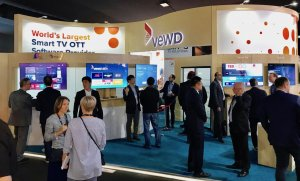 Image of Vewd booth from IBC 2018