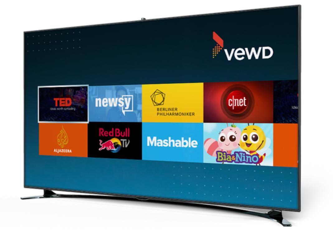 Vewd Atom in TV Screen