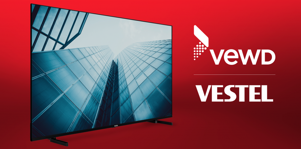 Vestel and Vewd Sign Multi-Year Contract to Ship Millions of Vewd-Enabled Smart TVs